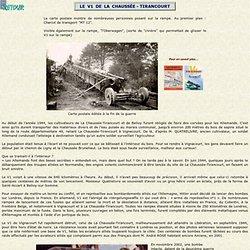 Le V1 de La Chaussée-Tirancourt