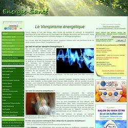 Le vampirisme énergétique
