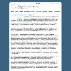 Le vasospasme et le syndrome de Raynaud