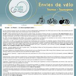 Le vélo en quelques dates