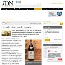 Le vin le plus cher dumonde - JDN