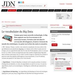 Le vocabulaire du Big Data - JDN
