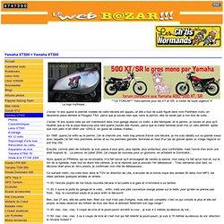 Le Web Bazar !!! La Yamaha XT500 !!!
