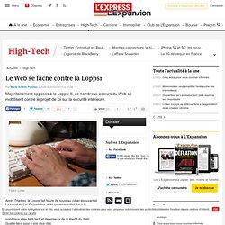 Le Web se fâche contre la Loppsi