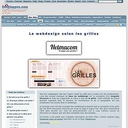 Le webdesign selon les grilles