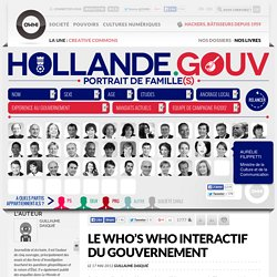 Le who's who interactif du gouvernement