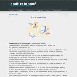 Le Wifi et la Santé » Le Dossier