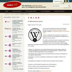 Le Wikiconcours lycéen