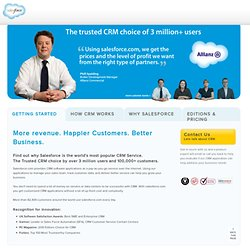 The Leader in CRM and Cloud Computing - salesforce.com UK
