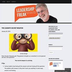 The leader's secret weapon