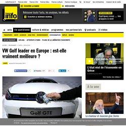 VW Golf leader en Europe : est-elle vraiment meilleure ?