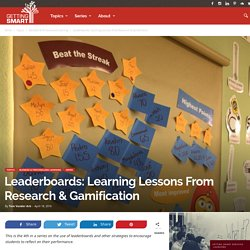 Leaderboards: Learning Lessons From Research & Gamification