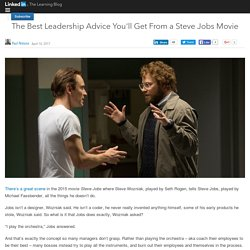 The Best Leadership Advice You'll Get From a Steve Jobs Movie