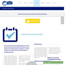 Leadership Business Training Program, Online Software Miami Florida
