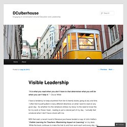 Visible Leadership