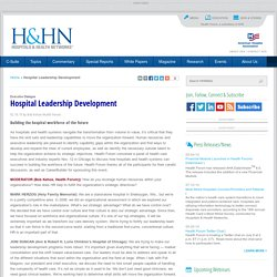 Executive Dialogue: Leadership Development