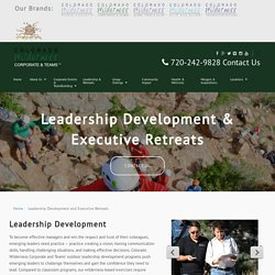 Get the leadership development training in Denver