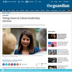 Voting closes in Labour leadership election