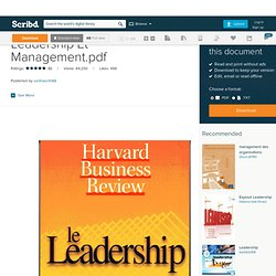 Leadership Et Management.pdf