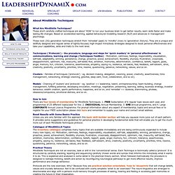 Leadership DynamiX – Executive Coaching, Workshops and Forum