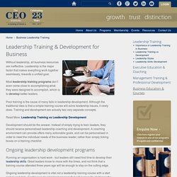 CEO Development - The CEO Institute