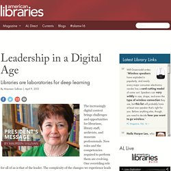 Leadership in a Digital Age