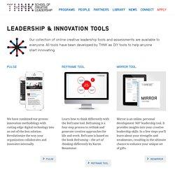 Leadership & Innovation Tools