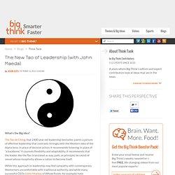 The New Tao of Leadership (with John Maeda)