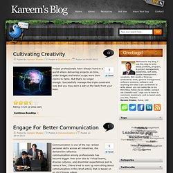 Kareem's Blog