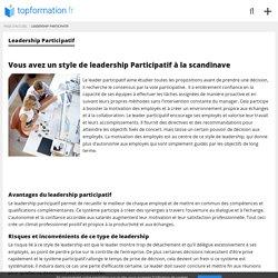 Leadership Participatif