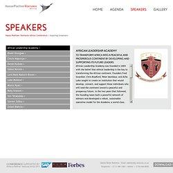 Hasso Plattner Ventures Africa Conference 2012