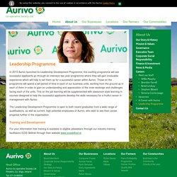 Aurivo Graduate Programme