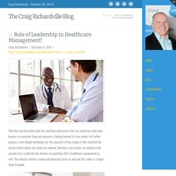 Role of Leadership in Healthcare Management!