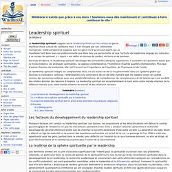 Leadership spirituel