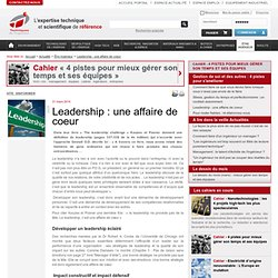 Leadership : une affaire de coeur
