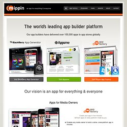 Award winning app-creation platform.