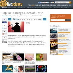 Top 10 Leading Causes of Death