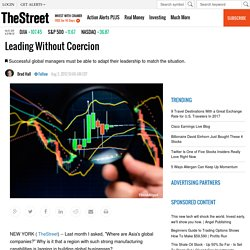 Leading Without Coercion - TheStreet