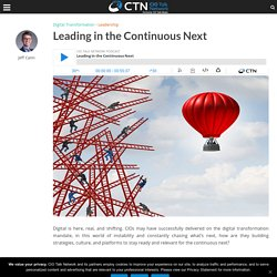 Leading in the Continuous Next