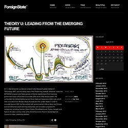 Theory U -> Leading from the Emerging Future