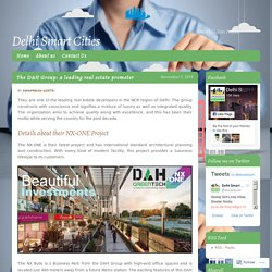 The DAH Group: a leading real estate promoter