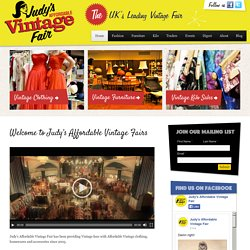 Home - Affordable Vintage Fashion Fair