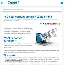 The best content curation tools online