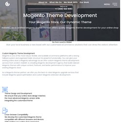 Leading Magento Theme Development Company