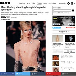 Meet the boys leading Margiela's gender revolution