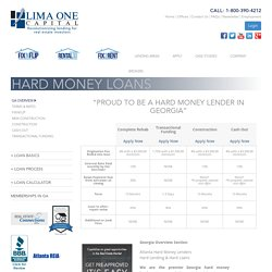 Leading Hard Money Lender in Georgia. Get Your Hard Money Loans & Close ONLY in 5days!