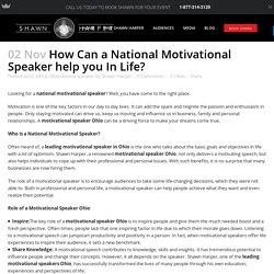 National motivational speaker