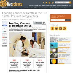 Leading Causes of Death in the US: 1900 - Present (Infographic)