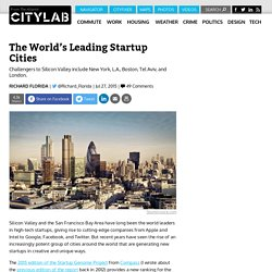 The World's Leading Cities for Startups and Innovation