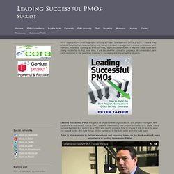 Leading Successful PMOs - Success